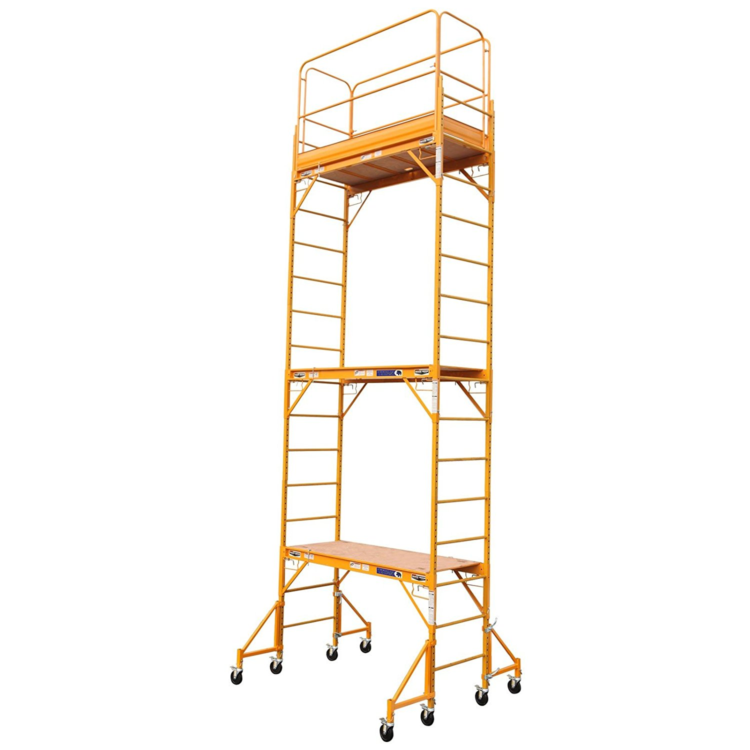 30 Foot Scaffolding : Scaffolding ft height w guard rail outriggers build