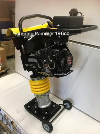 Jumping Jack Tamper Rammer Plate Compactor Build Master
