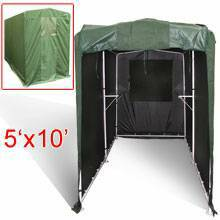Portable Motorcycle Canopy Storage Tent Shed Cover Garage 5x10