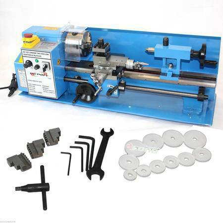 Metal Lathe For Sale >> 7 X 14 Mini Metal Lathe Infinite Variable Speed Spindle 2500rpm