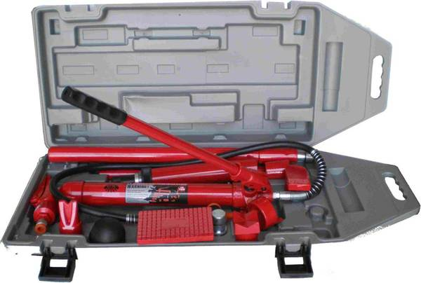 Hydraulic Coil Spreader : Ton porta power body frame repair kit hydraulic in