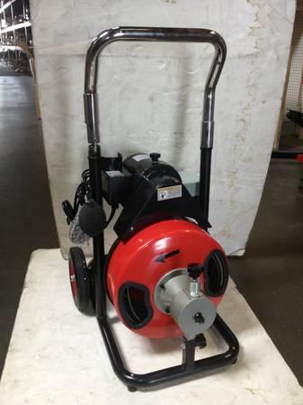 Drain Cleaner Machine 50 Ft X 1 2 Drain Snake Drain