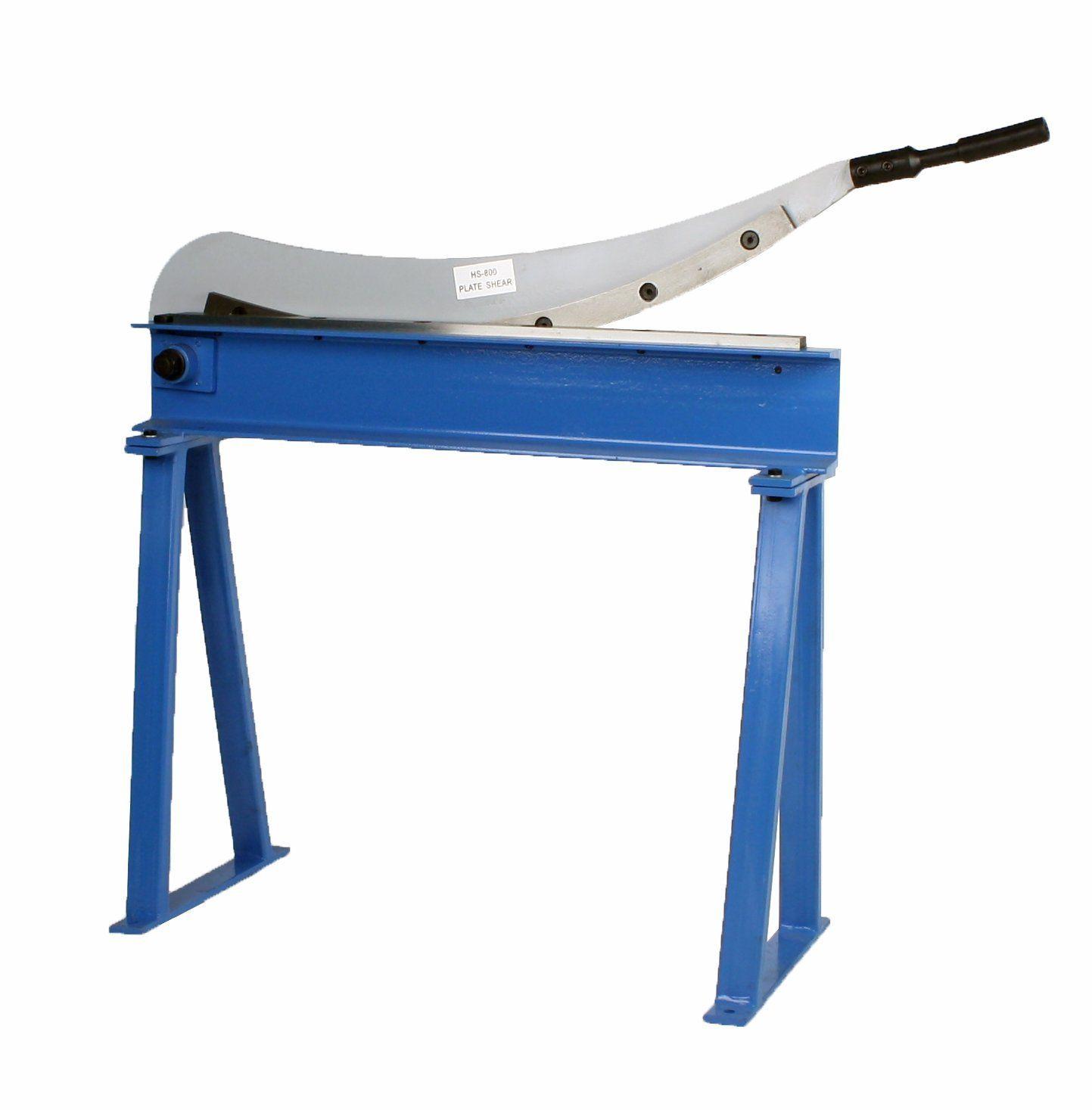 Guillotine Shear 32 X 16 Gauge Sheet Metal Plate Cutter