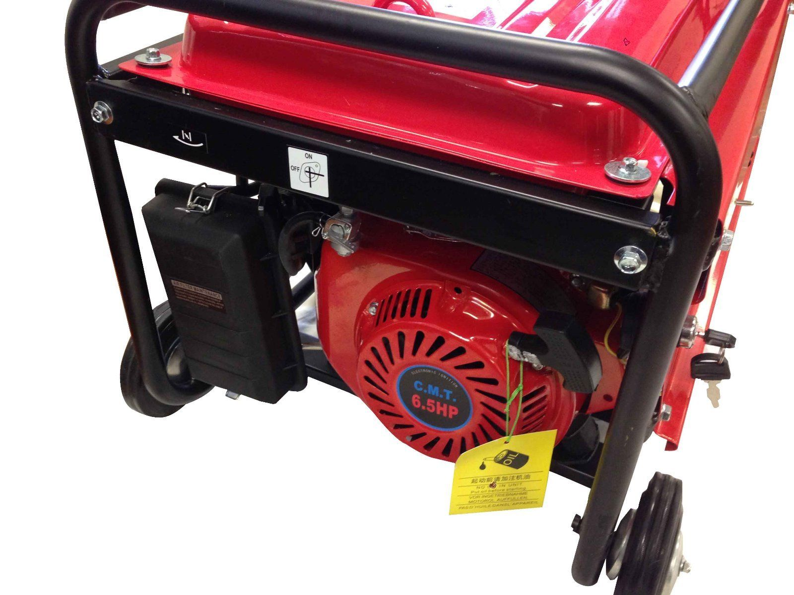 Generator 3500w Gasoline Electric Start W Battery Build